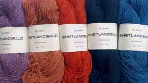 Shetlandsuld BC Garn. Foto: Doggerland Design