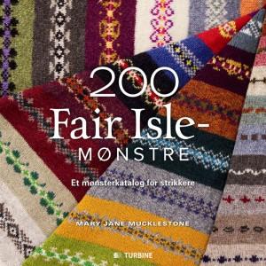 Lækker inspirerende bog, med hele 200 forskellige Fair Isle mønstre, strikkevejledning mv. Pris kr. 249,95