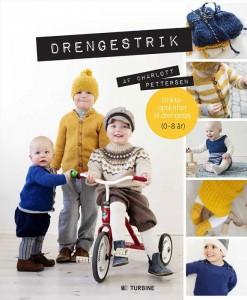 DRENGESTRIK - inspirerende bog med opskrifter til drenge i alderen 0-8 år. Pris kr. 299,95