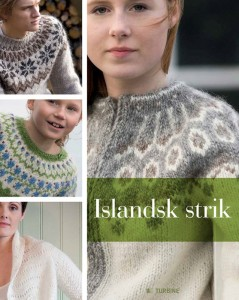 Islandsk Strik, mange skønne mønstre og opskrifter. Pris kr. 349,95