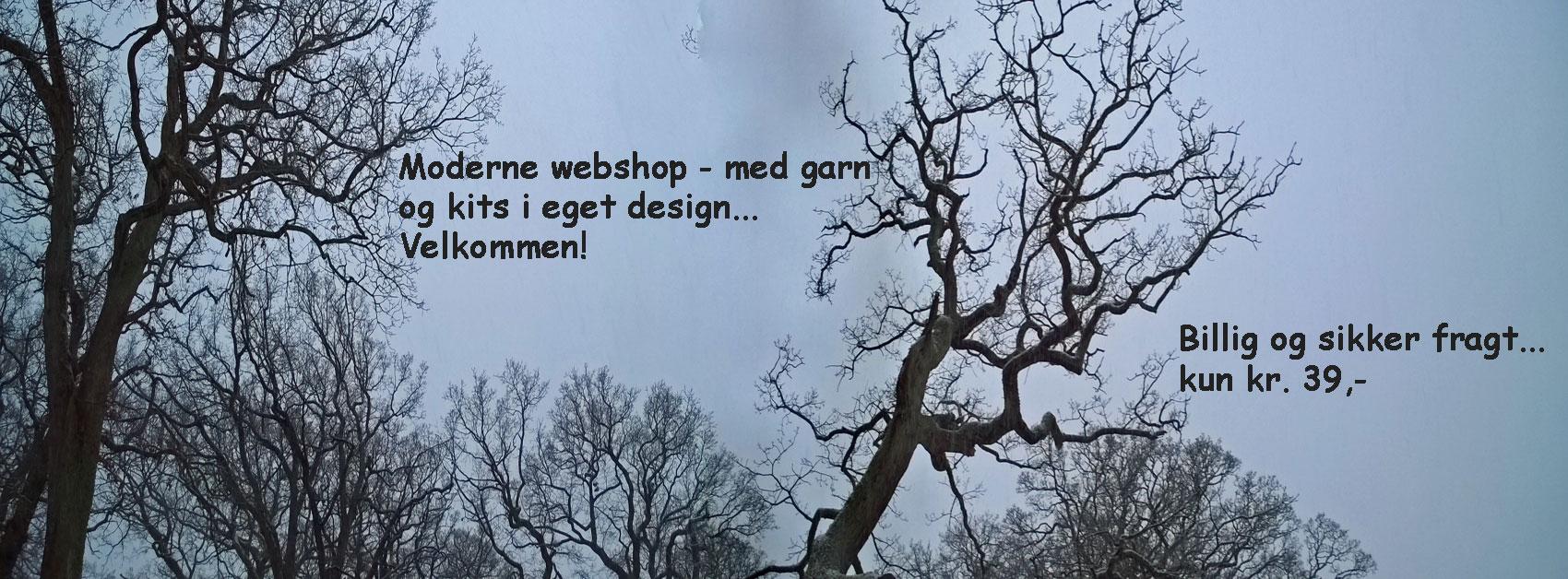 Garn webshoppen Doggerland Design, billig fragt og gratis fragt på ordrer. Foto: Marianne Prosborg