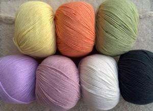 Mayflower Cotton 1 bomuldsgarn med Hb Acryl. Med rabat i garnshop. Foto: Marianne Porsborg