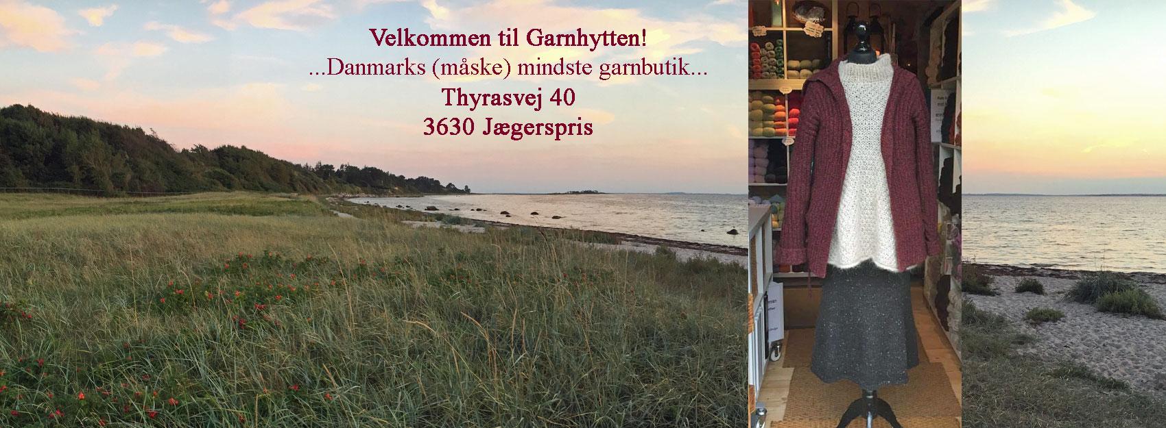 Garnhytten, Jægerspris. Doggerland Designs fysiske garnbutik. Foto: indehaver Marianne Porsborg
