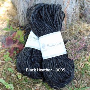 Bulkylopi, tyk islandsk uldgarn til strik af fx Bedelia sweater og Aislinn sæt