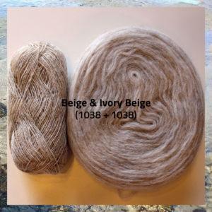 Einband og Plötulopi islandsk uldgarn, i strikkekit Blathnat fra Doggerland Design