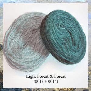 Islandsk pladegarn Plotulopi, i strikkekit garn og opskrift til lang sweater