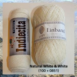 Islandsk uldgarn og blød alpaka, i hæklekit Clodagh til hue og halstørklæde. Doggerland Design