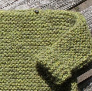 Strik nem uldbluse til baby og børn, i islandsk uldgarn. Kit Una fra Doggerland Design
