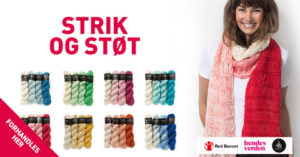 Strik og Støt Merino The Collection strikkekit med donation af 40 kr til Red Barnet