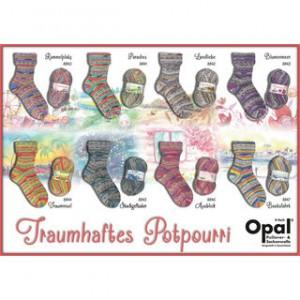 OPAL kollektion: Fabelagtigt Potpourri. Foto: Gepard Garn (DK importør af OPAL).