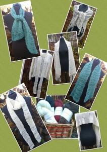 Doggerland Design webshop gratis opskrift tørklæder