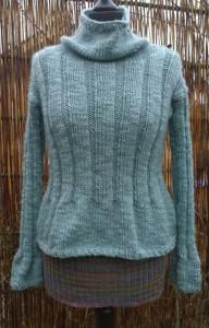 Ryg- og mavebælte i uld fra Doggerland Design